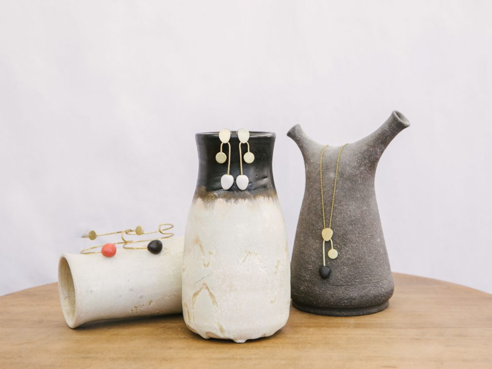 bodegón jarrones de cerámica