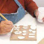 esmaltando porcelana