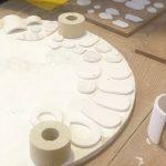placa de horno para cerámica