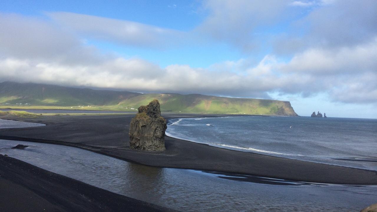 playa de Vik en Islandia