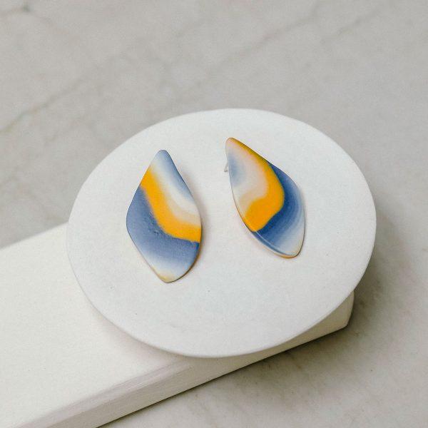 Pendientes de porcelana pequeño