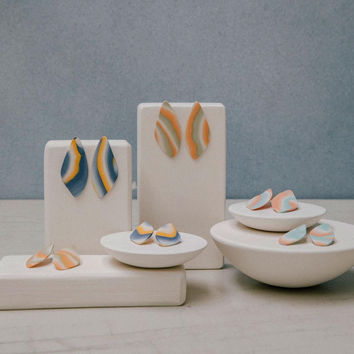 Colección Jana-bira de porcelana artesanal