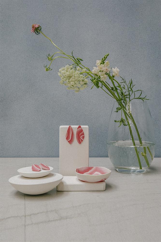 colección Jana-bira en porcelana y plata